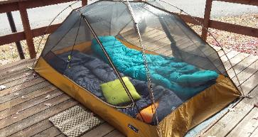 Nemo 2P tent without the fly